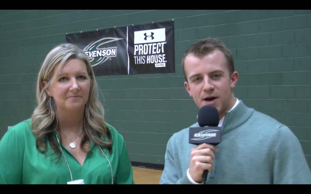 Play-By-Play Debut on the Mustangs Sports Network from Stevenson University