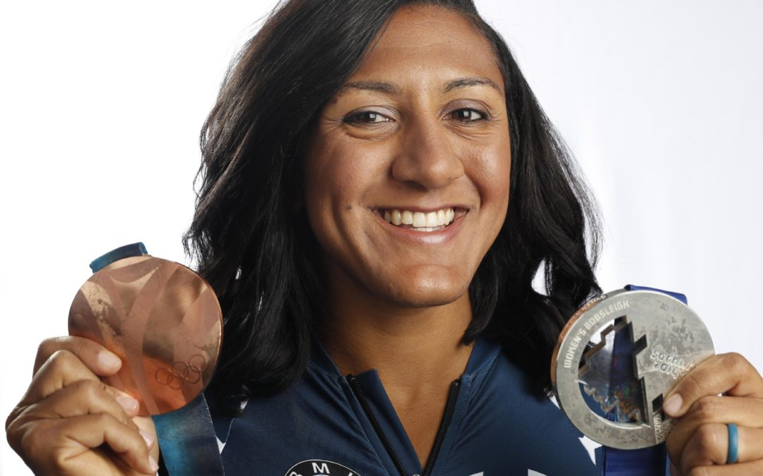 My interview with Team USA's Elana Meyers-Taylor