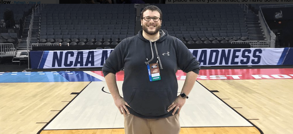 Bob's Interview with UMBC Athletics Multimedia Director Zach Seidel